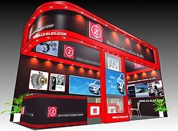 Z汽车配件展览模型