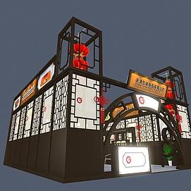 天源包装制品展览模型