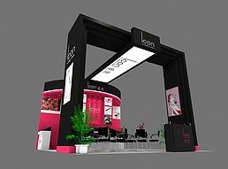 化妆品类展览模型