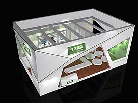 6X9生活诚品展览模型