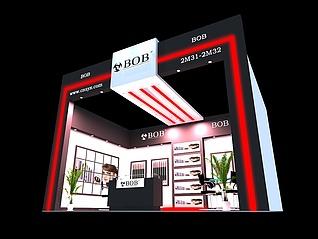 广州水缘秀2012展览模型