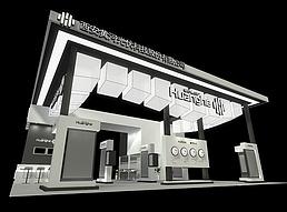 黄河科技展览模型