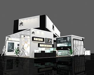10×15浙江时大管件展览模型