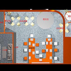 音响灯光乐器及技术展览会展览模型