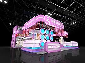 美容集团展览模型