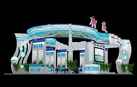 15X12聊城展位展览模型