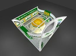 15X15浐灞生态区展览模型