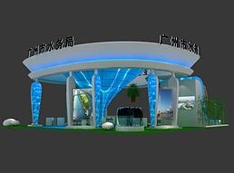 15X15广博会合肥展区展览模型