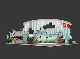 15X24三明展览模型