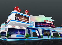 26X15西博会南充展览模型