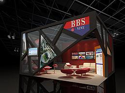 6X6墙漆展示展览模型