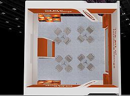 6X6由由展览模型