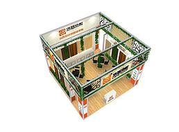 6X6江苏洛基木业展览模型