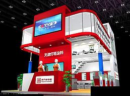 6X9天津灯塔展览模型