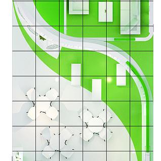 湖北金山轻工家电3d模型