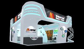 平安威马克9x9展览模型