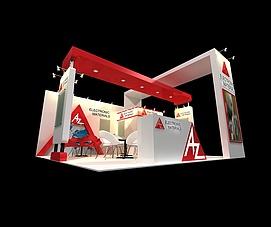 AZ展展览模型
