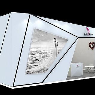 6x10婚纱摄影3d模型