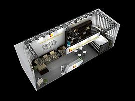 4X12工艺品展位展览模型