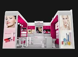 6X6光琪彩妆展览模型
