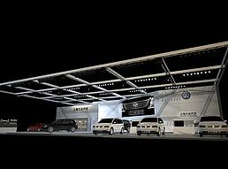大众汽车展展览模型