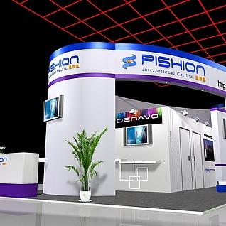 pishion展3d模型