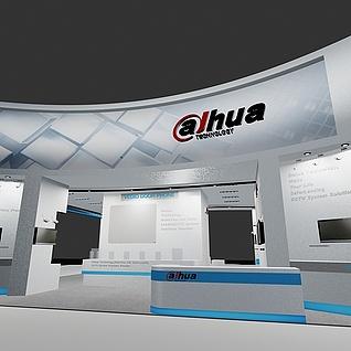 hua展厅3d模型
