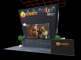 乐豆游戏展览模型