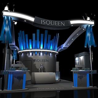 ISQ国外展3d模型
