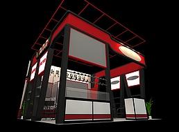 企业展厅展览模型