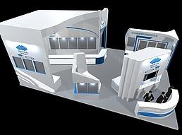 全球刚结构展展览模型