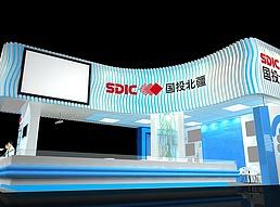 国投北疆展览模型