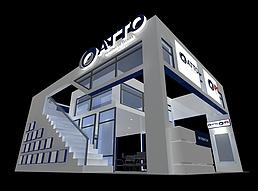 IPs国外展厅展览模型