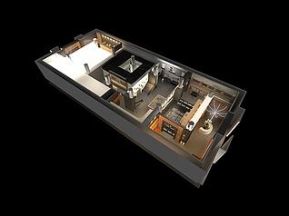 金地集团展厅展览模型