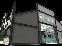 水漾花城展览模型