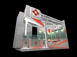 东曹电子材料展展览模型