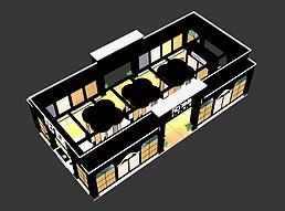 9X18上海如晶展览模型