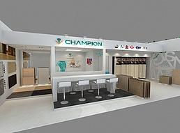 10X5冠军磁砖展览模型