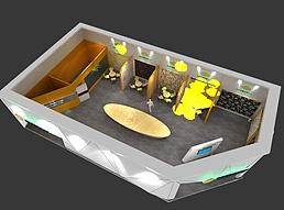 11X20星秀墙展览模型