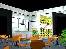 12X12方形典格家居展览模型