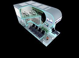 12X16蒙发利展览模型