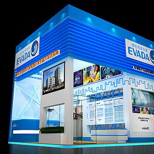 展览、特装、展台3d模型