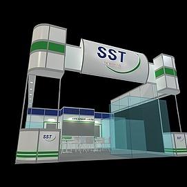 SST展展览模型