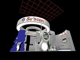 suscon展展览模型