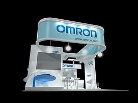 omron展览模型