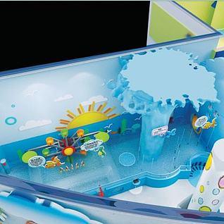 科技馆戏水乐园3d模型
