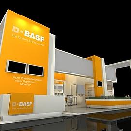 BASF展厅展览模型