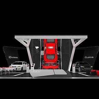 雷克萨斯3d模型