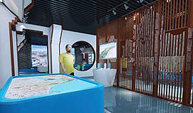 规划展厅展览模型