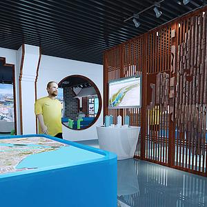 規劃展廳3d模型